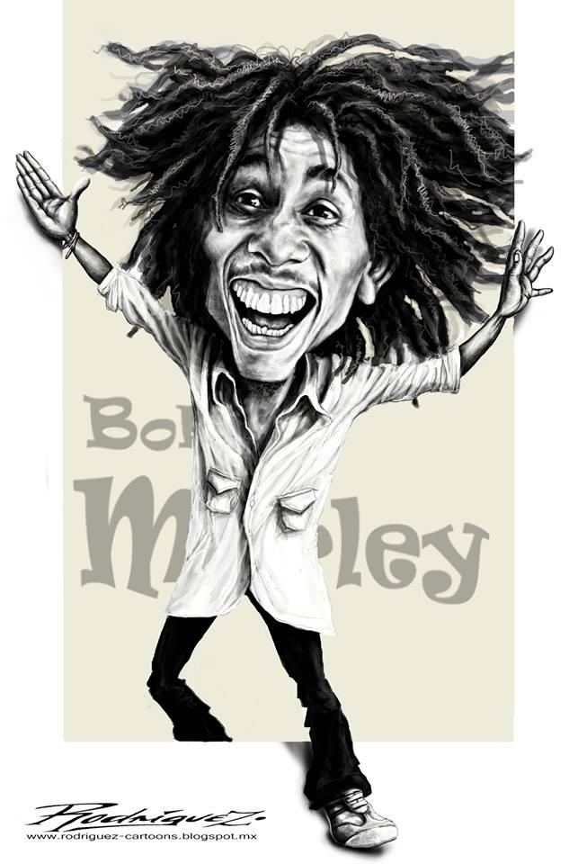 Bob Marley Toons Mag