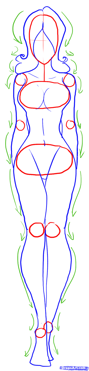 How To Draw Female Figures Draw Female Bodies 21 Steps Toons Mag