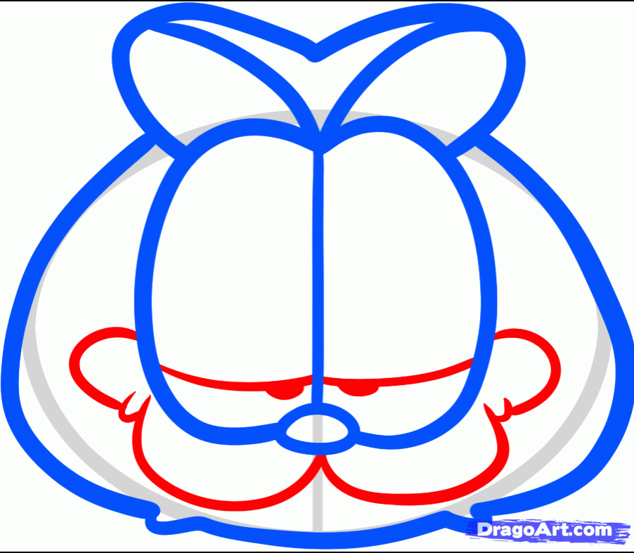How To Draw Garfield By Jim Davis Easy Tutorial Toons Mag