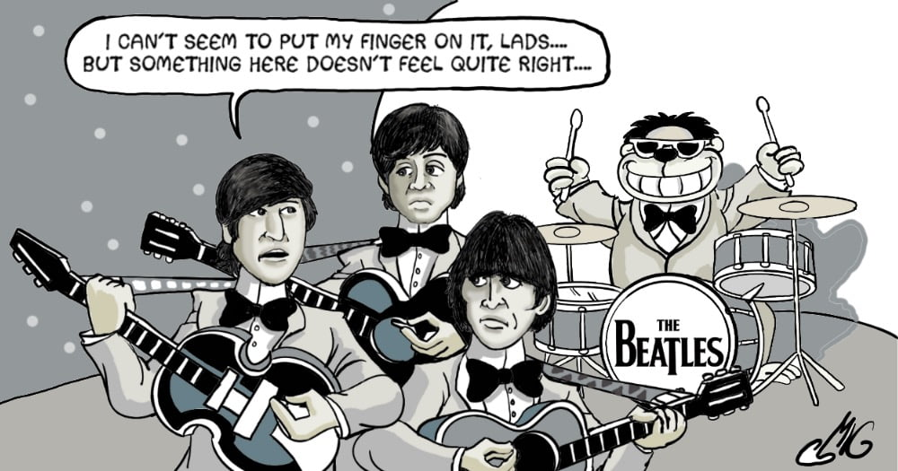 The Beatles The Early Days Toons Mag